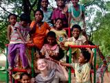 Camille Mariéthoz, mission humanitaire en Inde