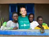 Tatiana Guedroitz, mission humanitaire au Ghana
