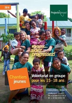 de la Brochurebrochure Chantiers jeunes