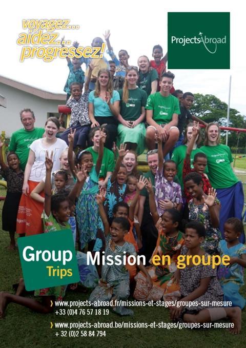 Dépliant Mission en groupe