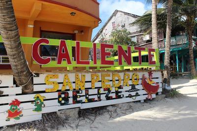 Un nom espagnol de restaurant au Belize