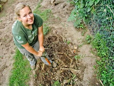 Volunteering on a Farming project with Projects Abroad