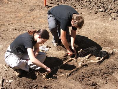 Chantiers fouilles en Europe de l'Est