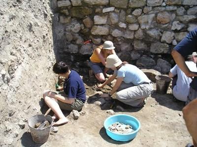 Chantiers fouilles en Roumanie