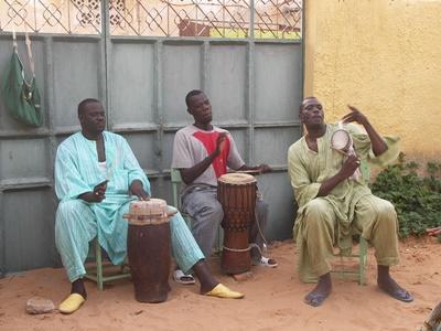 Projet humanitaire Musique à Saint Louis du Sénégal