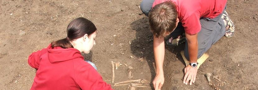 Chantiers fouilles