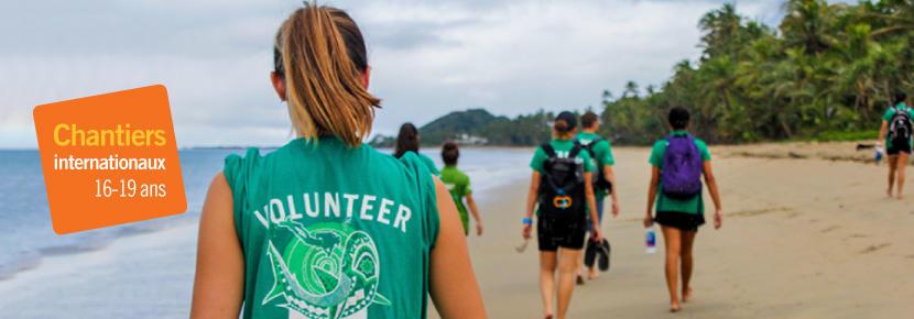 Volontariat en groupe pour les jeunes de 16 à 19 ans à travers le monde