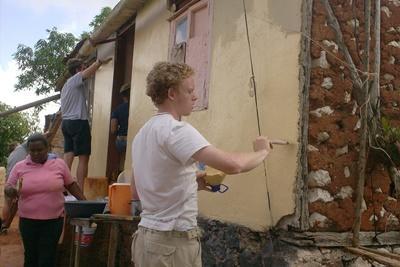 Chantier construction pour jeunes