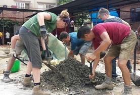 Chantiers jeunes construction & reconstruction : Népal