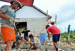 Missions de volontariat et stages aux Philippines : Construction &  reconstruction