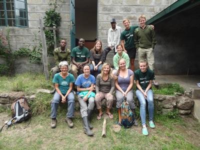 Chantier environnement Kenya Afrique