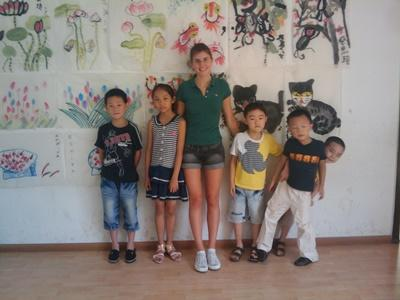 Chantier international de jeunes en Chine en 2014