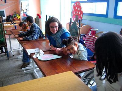 Chantier humanitaire Maroc