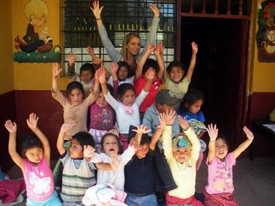 Volontaires en chantier d'été au Pérou