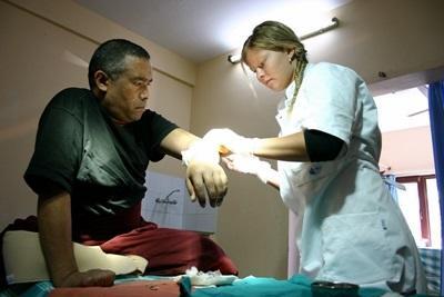Volontaire en chantier médecine au Népal