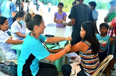 Bénévole en chantier international aux Philippines