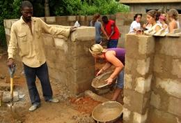 Mission de volontariat Construction : Ghana