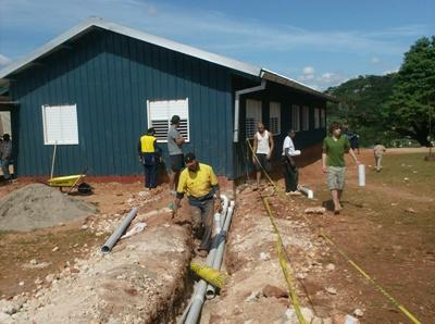 Travaux de rénovation en Jamaïque, Caraïbes