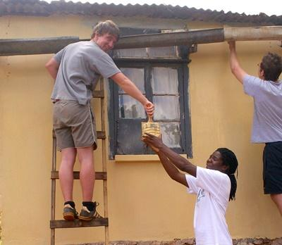 Travaux de rénovation d'école