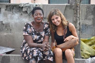 Cours d'anglais au Ghana
