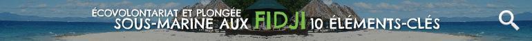 Ecovolontariat aux Fidji 10 Éleménts-Clés