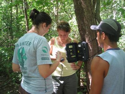 Etude de biodiversité au Costa Rica