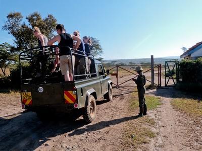 Etude de biodiversité au Kenya