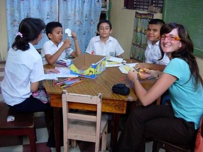 Soutien scolaire humanitaire au Costa Rica