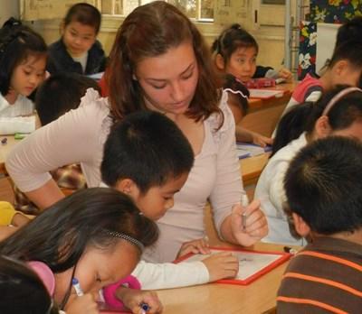 Volontariat soutien scolaire Vietnam