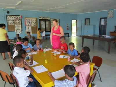 Action éducative en Océanie