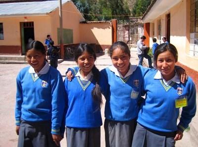 Animation en école en Amérique du Sud