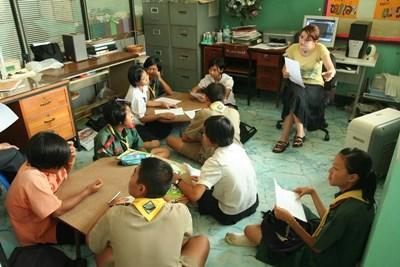 Enseignement humanitaire en Thaïlande