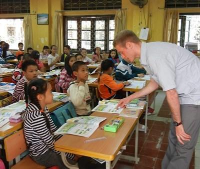 Mission en école au Vietnam