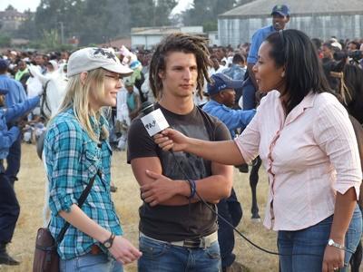 Journalisme reporter en Ethiopie