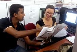 Missions de volontariat et stages au Sri Lanka : Journalisme