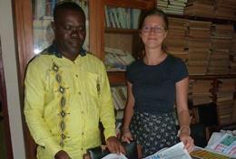 Missions de volontariat et stages en journalisme général : Togo