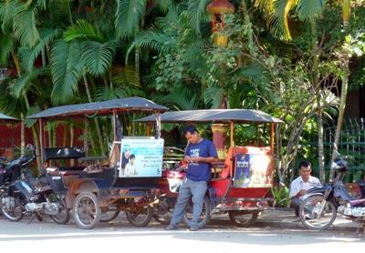Volontaires en projet microfinance au Cambodge
