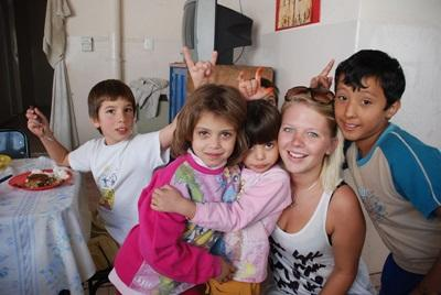 Volontariat auprès des enfants Argentins