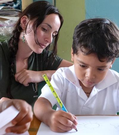 Mission d'aide sociale en Equateur