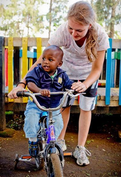Aide à l'enfance au Kenya