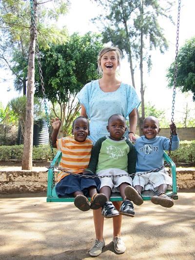Aide aux enfants au Kenya