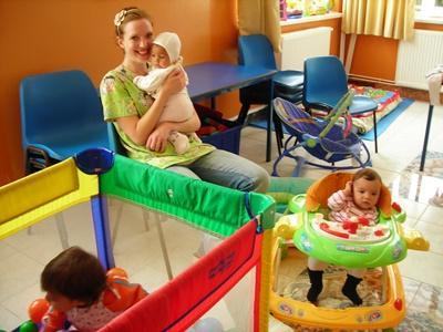 S'occuper d'enfants en Roumanie