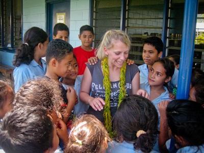Mission humanitaire d'aide à l'enfance en Polynésie