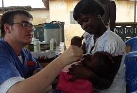 Mission humanitaire à l'étranger : Ghana