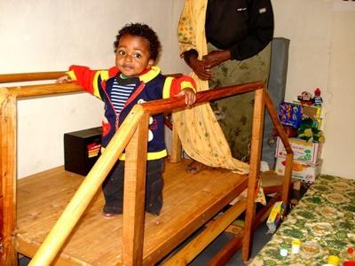 Stagiaire kinésithérapeute en Ethiopie