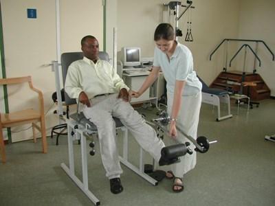Stage kinésithérapie en Afrique