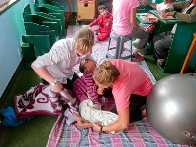 Bénévolat en kinésithérapie au Népal