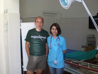 Stagiaire volontaire en kinésithérapie en Roumanie