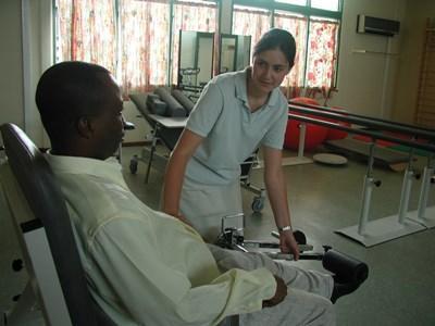 Stagiaire bénévole kinésithérapeute au Togo