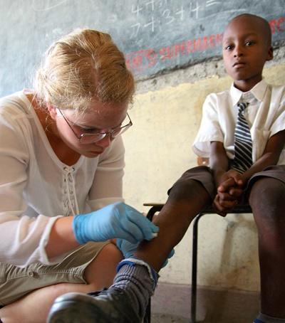 Stage médical dans un dispensaire dans la corne de l'Afrique